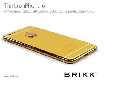 iPhone 6 : voici à quoi ressemblera un modèle plaqué or | Geek or not ? | Scoop.it