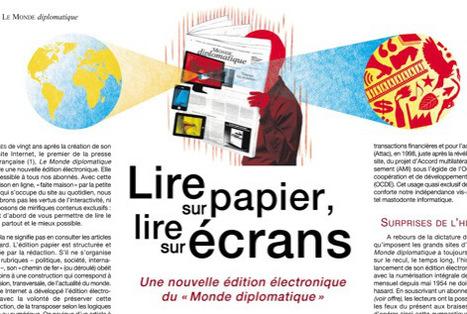 Le Monde diplomatique, une nouvelle façon de lire en ligne | DocPresseESJ | Scoop.it
