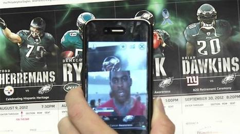 La réalité augmentée, la future grosse tendance dans le sport   Digital marketing in physical world   Scoop.it
