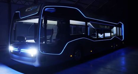 Mercedes présente son bus autonome du futur | 694028 | Scoop.it