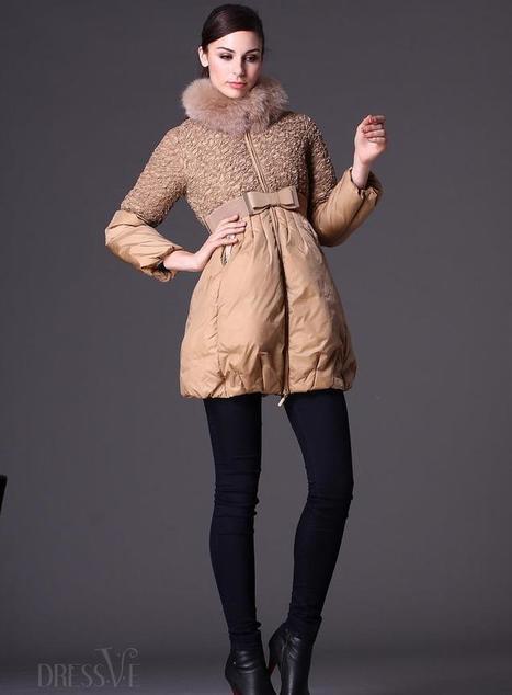 Glamorous Stand Collar Giubbino   fashion   Scoop.it