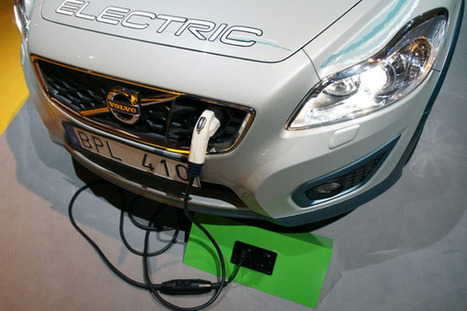 ELVIIS Volvo C30 EV charges from any standard outlet, bills the driver (hands-on) | An Electric World | Scoop.it