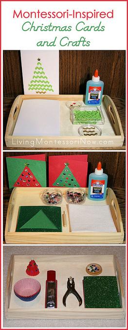 Montessori Monday – Montessori-Inspired Christmas Cards and Crafts   Montessori Inspired   Scoop.it