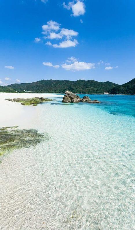 Looking Back at Aharen Beach, Kerama Islands, Japan - Most Beautiful Pictures | My Photo | Scoop.it