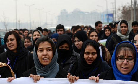 Afghan women fight for more rights, bigger voice in peace process | A Voice of Our Own | Scoop.it