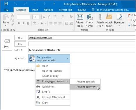 Screenshot Tour: What's New in Office 2016 | Windows HELP! | Scoop.it