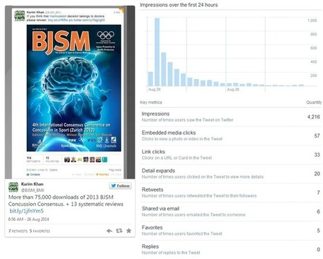 BMJ Blogs: BMJ Web Development Blog » Blog Archive » New twitter analytics: how many people see your tweets? | Salud Publica | Scoop.it