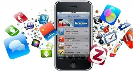 Applications mobiles 2013 : forte croissance avec 100 milliards de ... - Be Geek | Ebiz | Scoop.it