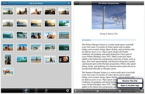 Microsoft updates SkyDrive for iPad with Retina Display support, file-sharing features | Curtin iPad User Group | Scoop.it