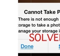 """iPhone """"Cannot Take Photo"""" Fix 