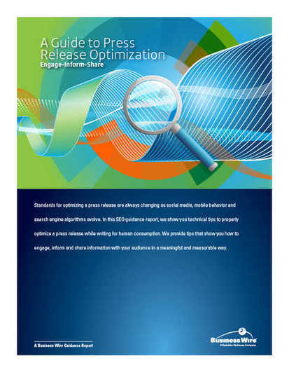 Business Wire Establishes Standards for SEO in 2014 with a New Guide for ... - Fort Mills Times | Social Media | Scoop.it