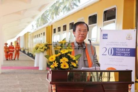 Cambodia's first commercial train between Sihanoukville and Phnom Penh   An Expat's Life in Sihanoukville Cambodia   Scoop.it