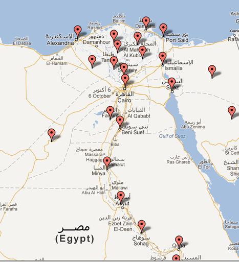 Résultats (partiels) de l'élection présidentielle par gouvernorats | Égypt-actus | Scoop.it