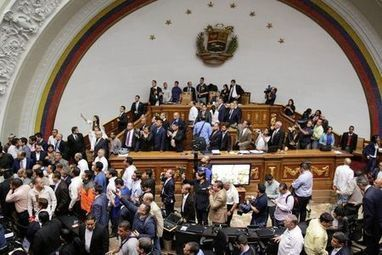 Venezuela congress presses for Maduro trial in rowdy session | THE MEGAPHONE | Scoop.it