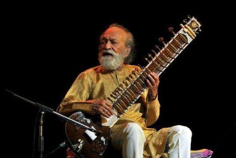 Musique: décès de la légende indienne du sitar, Ravi Shankar | Au hasard | Scoop.it