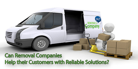 Can Removal Companies Help their Customers with Reliable Solutions?   Removal Services   Scoop.it