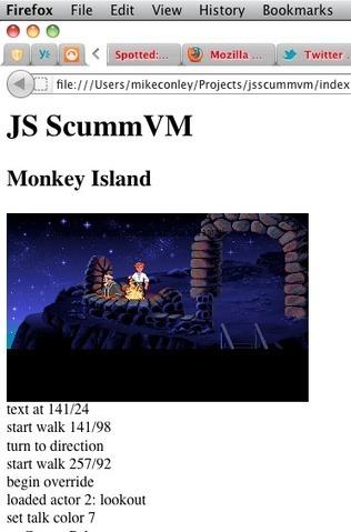 [ScummVM] the Secret of Monkey Island running via Javascript   Vade RETROGames sans tanasse!   Scoop.it