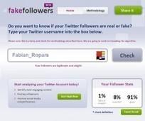 Un nouveau site pour démasquer ses fake followers Twitter | ALBERTO CORRERA - QUADRI E DIRIGENTI TURISMO IN ITALIA | Scoop.it