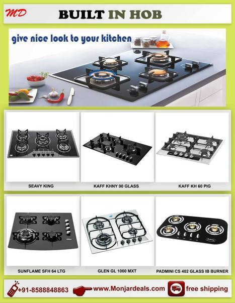 The Kaff Kitchen Appliances is Making Top Built in Hob | Monjar Deal a Complete Best Price Online store in INDIA for Home Appliances | Scoop.it