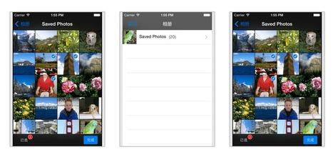 SimpleCollectionView    一个简单的类似collectionview的图片选择器。 | App Developer | Scoop.it