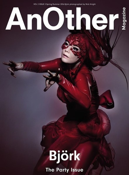 AnOther Magazine Cover Star Bjork in House of Harlot Latex - House of Harlot | LFN - latex fetish news | Scoop.it