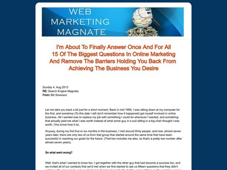 Web Marketing Magnate - Daily Scam Review | YouMarketer.net - Web Marketing Da Zero | Scoop.it