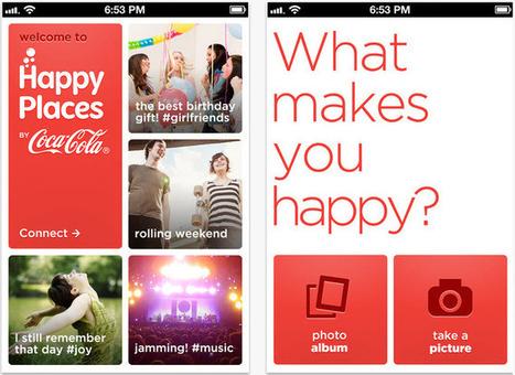 Coca-Cola Happy Places, nouveau concurrent d'Instagram ? | Art, Design and Imagination | Scoop.it