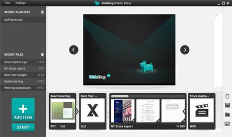 SlideDog: A presenter's best friend   Digital Presentations in Education   Scoop.it