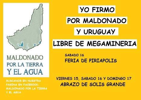 Maldonado y Uruguay libres de megamineria. | MOVUS | Scoop.it