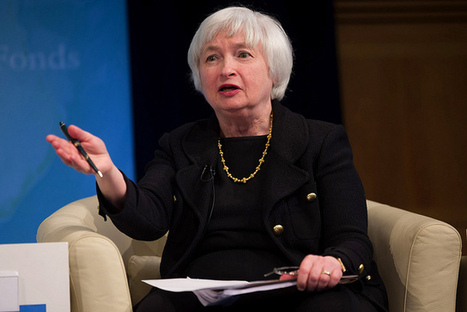#US : Federal Reserve Chair Janet Yellen Acknowledges Rise in Income Inequality | News in english | Scoop.it