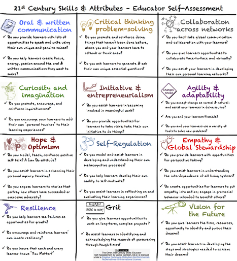 The Other 21st Century Skills: Educator Self-Assessment | Learning in & for the 21st Century | Scoop.it