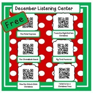 Free for Followers-Dec. Instant Listening Center -QR Codes-Great for Centers! | QR-Codes | Scoop.it