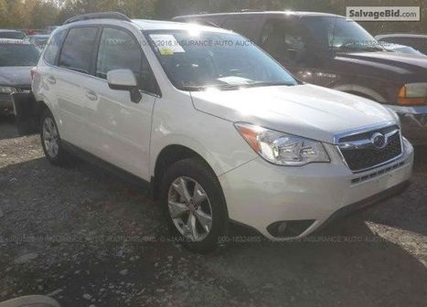 2016 Subaru Forester on online auction | Salvage Auto Auction | Scoop.it