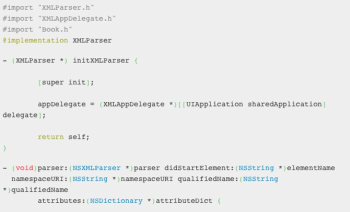 Parsing an XML file | iPhone and iPad development | Scoop.it