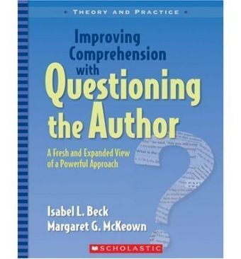 Questioning the Author-a strategy for close-reading and engagement #ccss #ccchat #engchat | North Merrick Teacher Center | Scoop.it
