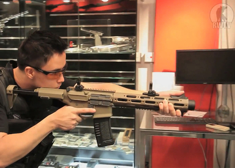 RWTV: Ares Amoeba Honey Badger Preview | Airsoft Showoffs | Scoop.it