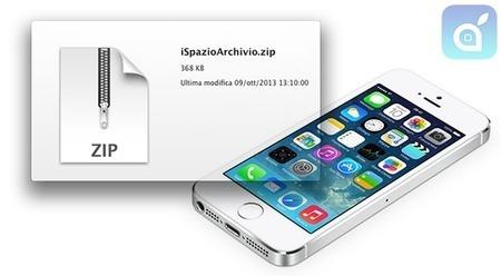 Novità iOS 7: supporto nativo ad archivi compressi su iPhone ed iPad - iSpazio – IL Blog Italiano per le Notizie sull'iPhone 5 e sull'iPod Touch di Apple con recensioni di Applicazioni e Giochi App... | Apple | Scoop.it