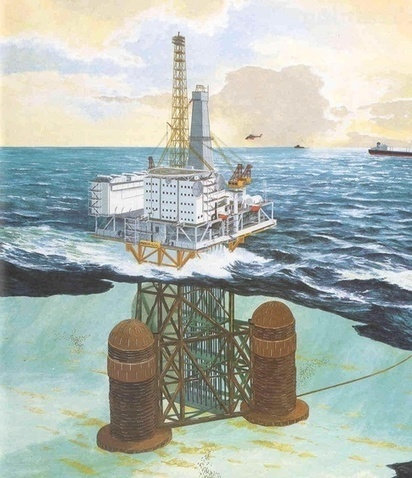 How do offshore drilling platforms move from place to place? - Quora | leapmind | Scoop.it