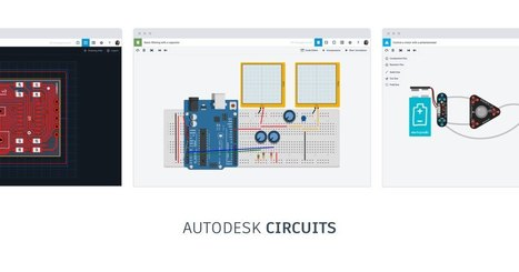 Bring ideas to life with free online Arduino simulator and PCB apps | Autodesk Circuits | STEM Connections | Scoop.it