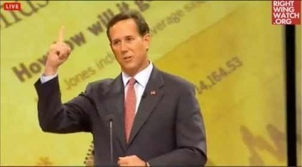 Santorum Redefines 'Pursuit Of Happiness' To Mean 'Doing God's Will' | Humanist Business | Scoop.it