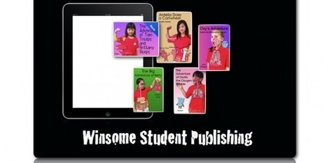 Winsome Wednesday: Delightful Student-Publishing!   iPad Lessons   Scoop.it
