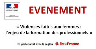 [INVITATION] Violences faites aux femmes : l'enjeu de la formation des professionnels | Ministère des droits des femmes | égalité femmes-hommes | Scoop.it