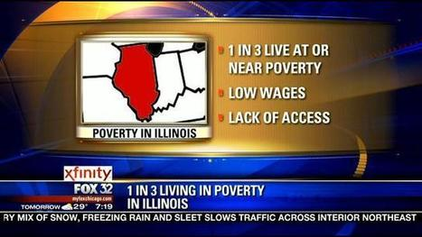 1 in 3 Illinoisans lives in or near poverty level: report | Arguments for Basic Income | Scoop.it