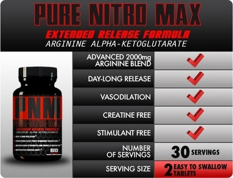 Pure Nitro Max Muscle Building Supplement Review - Risk Free Trial   How to gain muscle fast   Scoop.it