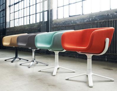 Scoop chair by KiBiSi for Globe Zero 4 | Good Design Collection | Scoop.it