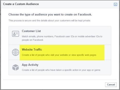 How to Set Up Website Retargeting in Facebook | Online Marketing Resources | Scoop.it