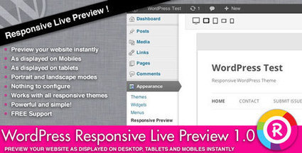 Codecanyon - WordPress Responsive Live Preview - Daily Nulled | Daily Nulled WordPress Themes & Plugins | Scoop.it