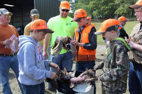 Pheasants Forever volunteers teach youth hunting skills - Blair Enterprise Publishing   kids outdoors   Scoop.it