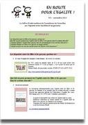 Académie de Versailles - En route pour l'égalité ! | Veille M1-M2 | Scoop.it