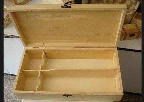 Wooden Wine Box for 2 Bottle | Wooden Wine Box | Scoop.it